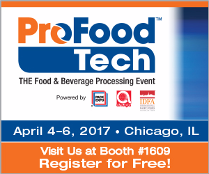 ProFood Tech Banner and link to free                               registration